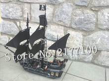 LEPIN 16006 804Pcs Pirates Of The Caribbean The Black Pearl Ship Model Building  Block Toy Compatible Brick 4184