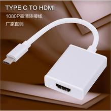 Manufacturers three-color optional supply type c to hdmi adapter usb3.1 to hdmi high-definition conversion line(China)