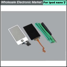 For Apple iPod Nano 7 Gen 7th White LCD Display and Touch Screen Digitizer Replacement with Tools