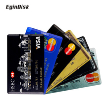 Promotion Credit Card Usb Flash Drive Custom Logo Pendrive Gift Pen Drive 8G 16G 32G Bank Card Usb Stick Creative Disk On Key