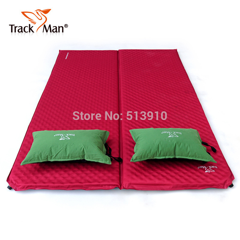 Trackman widened thick double automatic inflatable mattress inflatable cushion outdoor moisture pad bed genuine camping mat<br><br>Aliexpress