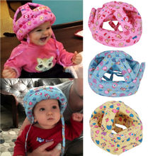 Soft Baby Infant Toddler Walk Play Head Protect No Bumps Safety Hat Helmet Caps