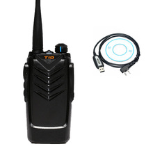 Walkie Talkie TID TD-V3 Handheld Transceiver Ham Radio With USB Programming Cable Drive CD UHF 400-470MHz Two Way Radio CB Radio