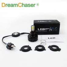 dream Chaser H4 LED motorcycle headlights 24w motorbike motos fog lights for ktm exc cafe racer harley motorcycle accessories