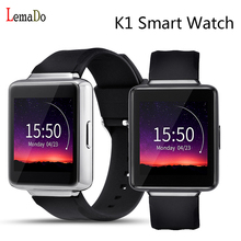 New Lemado K1 Android 5.1 OS Smart Watch phone MTK6580 Quad core 512MB+8GB Support WiFi GPS 3G Nano Sim Google Play smartWatch