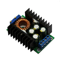 DC-DC step-down Adjustable Constant pressure constant current High Power 12A solar charger LED drive vehicle-mounted module(China)