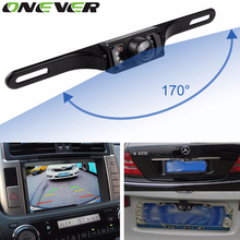 170 Wide Degree HD Special Waterproof Rear View Camera for Volkswagen 7 LED Night Vision Backup Reverse Parking Camera 1pcs