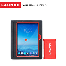 "LAUNCH X431 HD Heavy Duty+Pad 10.1"" Android ScanPad bluetooth diagnostic scanner tool for repairing cars 72 car styling(China)"