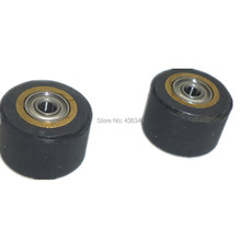 2pcs Copper Core Pinch Roller 5x11x16mm Wheel Bearing For Roland Vinyl Plotter Cutter Engraving Machine Printer Parts Brand New