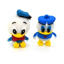 100% real capacity lovely Donald Duck usb flash drive cartoon pendrive USB Pen Drive Disk Flash Memory Stick free shipping
