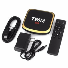 T96M Android 6.0 Smart TV Box 2G/16G S905X Penta Core 3D Media Player 4K BT 4.0 HDMI 2.0 2.4G WiFi #242181