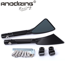 Aluminum CNC motorcycle rearview Side mirror accessories(China)