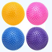 Yoga Half Ball Physical Fitness Appliance Exercise Balance Ball Point Massage Stepping Stones GYM Yoga Balls Pilates 4 Colors(China)