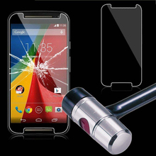 Premium Tempered Glass 0.27mm Screen Protector for Motorola Moto G G2 G3 G4 Plus Play E Droid X3 X2 X Style Pure Edition Film(China)
