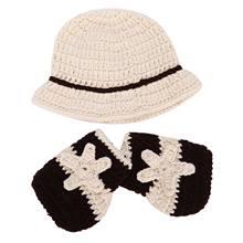 MYMF-Lindo Menino Fralda de Crochê Malha Fotografia Props Bebê Recém-nascido  Outfits Traje com Meias Cowboy 8cb97d89eab