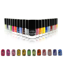 1PC Top Quality Nail Stamp Polish Various Colors Bottle Nail Art Tips Manicure for Girls Nail Polish Finger Nail Decoration(China)