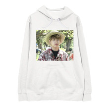 BTS run plates of cadet grey head rabbit face Jiuguo brother Tian control sweater female hooded Korean students relaxed tide(China)