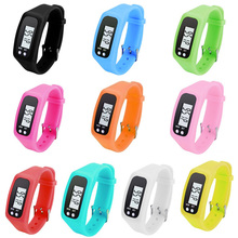 Digital LCD Pedometer Run Step Walking Distance Calorie Counter Sport Watch Bracelet B2Cshop(China)