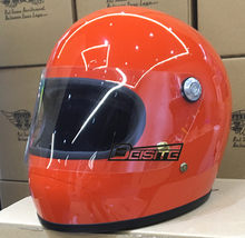 Free Shipping BabyStar Thompson helmet brands Harley Helmet Small face Helmet with Lens have Orange black colour