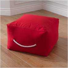 "Fashion Pouf/Ottoman stool with 420D Canvas Material 19.8""x12"" inches/COVER only without inside filler"