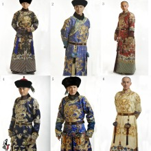 Winter Design Qing Dynasty Prince Official Costume Hanfu for TV Play BubuJingxin Splendid Embroidery Male Costume Only no Hat