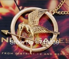 ZRM (can mix color)Hot Free Shipping Wholesale 30pcs/lot Hunger games Laugh at the bird pendant necklace original factory supply