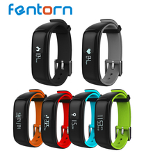 Fentorn P1 Blood Pressure Heart Rate Monitor Sport Fitness tracker Smart Bracelet Waterproof Bluetooth Smart Band for smartphone(China)