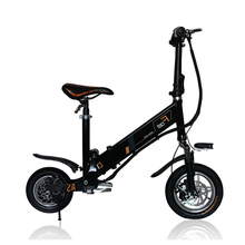 mini electric folding bicycle 12inch folding bike instead of walking bicycle Light electric bike intelligent electric bicycle(China)
