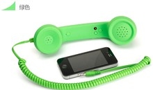 2015 Hot! Retro phone handset specifically on the mobile phone   anti-radiation mobile phone Headphones soft touch painted