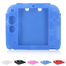 Soft Silicone Skin Case Cover for 2DS Game Protective Cases (China)