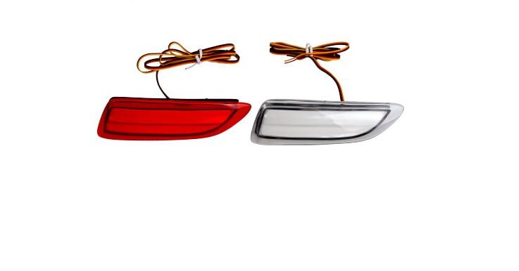 YCL led driving light + brake light, rear bumper back surrounded light for toyota corolla 2011, 2 versions<br>