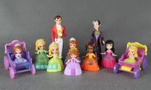 Original Collection American Sofia the First PVC Figure Toy Sofia Princess Dolls Decoration Brithday Children Toys Gift Doll