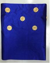 Royal Blue Nigeria Headtie Hot Sale African Headwrap For Nigerian Hojilou 2pieces/lot Nigerian Gele Headtie with Beads