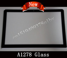 "New Matrix LCD LED Screen Glass For Macbook Pro 13"" 15"" 17"" Unibody A1278 A1286 A1297 Screen Glass Lens 2009 2010 2011 2012(China)"