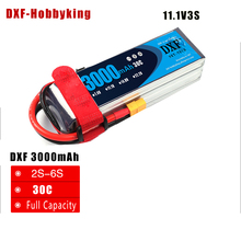 Buy 2017 DXF Power High lipo battery 11.1v 3000mAh 3S 30C rc helicopter rc car rc boat quadcopter Li-Polymer battey for $24.22 in AliExpress store