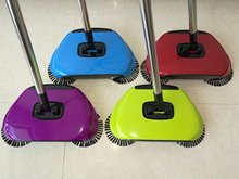 Broom Cleaner Robot Household Cleaning Hand Push Sweeper Broom machine Broom Floor Cleaner Dustpan Combination Package 3 in 1(China)