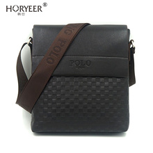 HORYEER sacoche homme Business Man's Small Messenger Bags Polo Crossbody Bags Small POLO Brand Man Satchels Travel Shoulder bag