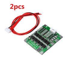 2PCS New Arrival 4S 30A 14.8V Li-ion Lithium 18650 Battery BMS Packs PCB Protection Board Balance Modules Boards