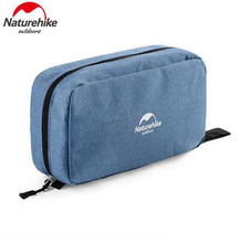 Naturehike New Travel Wash Bag Wash Bags Men Big Capacity Laundry Portable Mesh Camping Equipment Travel Kits(China)