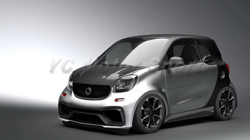 2015-2017 Smart Fortwo C453 & Forfour W453 AMG Style Body Kit FRP (6)
