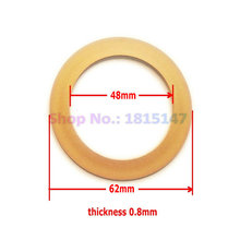 2pcs Piston ring 48*62*0.8 Oilfree air compressor spare parts(China)