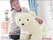 stuffed animal 60 cm lovely white polar bear plush toy doll throw pillow gift w5461(China)