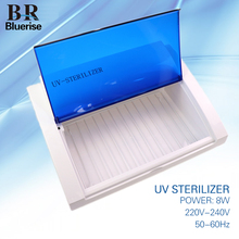 BR Bluerise UV Sterilizer Professional Nail Art Tools Disinfection & Clean Nail Art Equipment Euro Plug 220V