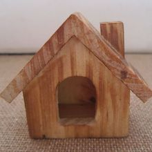 Handmade Mini Wooden House Vintage Furniture Accessories Model Nostalgic