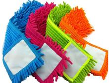 Folding flat Mop Head Chenille Refill Replace Microfibre Fabric Replacement Cloth Easy Washing Thicken No Handle 41x12 CM