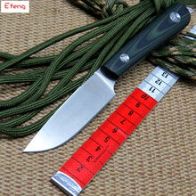 Efeng Scout D2 blade G10 handle fixed blade hunting straight knife KYDEX Sheath camp survival outdoors tactical EDC tool knife(China)