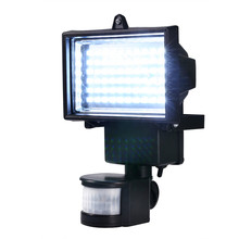 Solar Panel LED Flood Security Garden Light PIR Motion Sensor 60 LEDs Path Wall Lamps Outdoor Emergency Lamp(China)