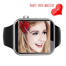 Fashion Men Women A9 Smart Watch Heart Rate Bluetooth Smartwatch for Apple iOS iPhone 6s 7 Huawei Samsung Sony Android Phone