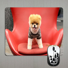 Hot Selling Cute Pomeranian Puppy Dog Pet New Skin Popular Game Laptop Notbook Gaming Mousepad Mouse Mat for Optical Laser Mouse
