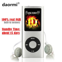 High Quality LCD 1.8 inch 8GB (Virtual 32GB) Sport MP3 Player Music Playing 4th gen with FM Radio E-book HD Video MP4 Player(China)